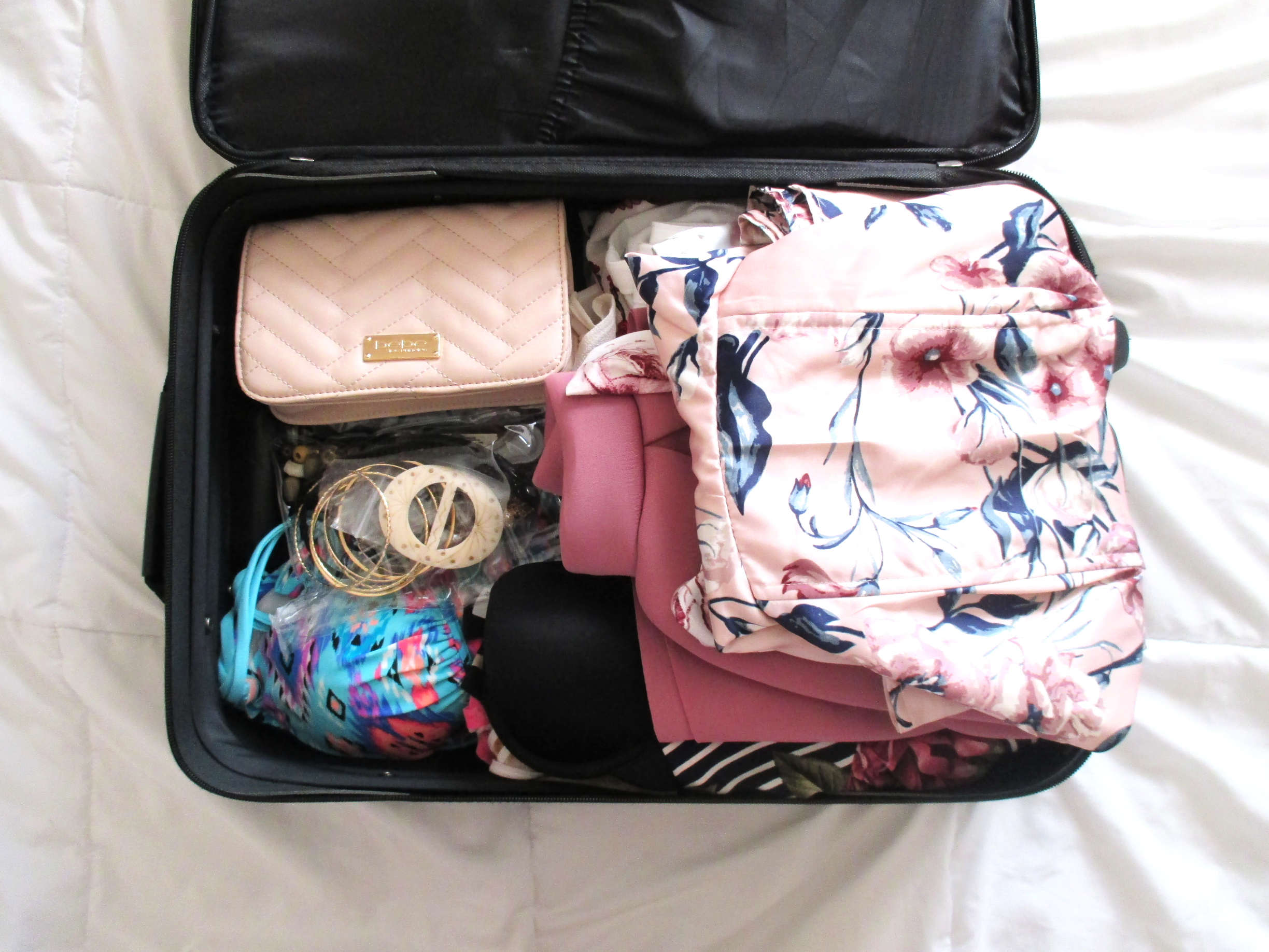 Traveling with only carry-on luggage