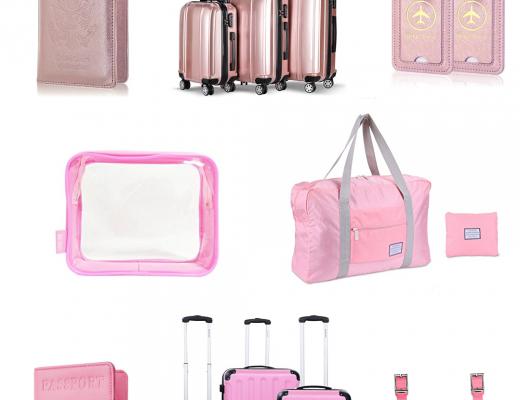 Pink Travel Gear