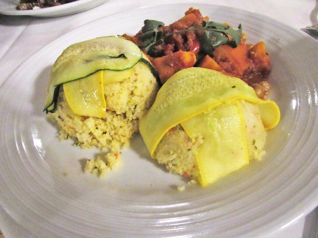 Vegetarian Cruise Food
