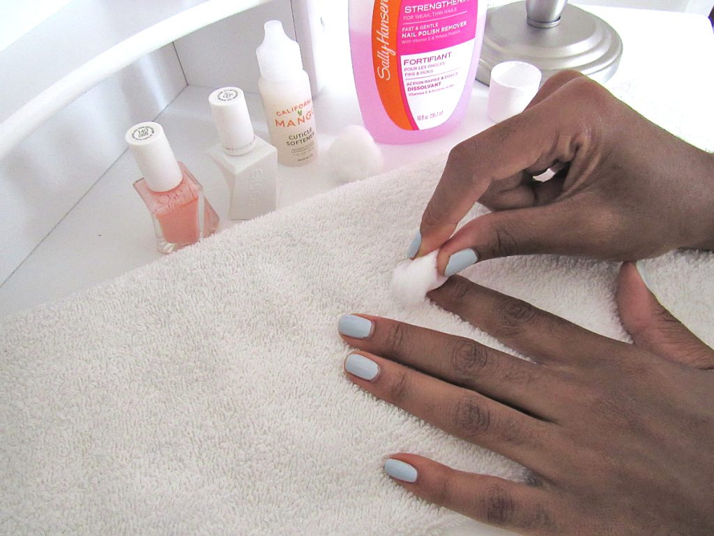 at home gel manicure