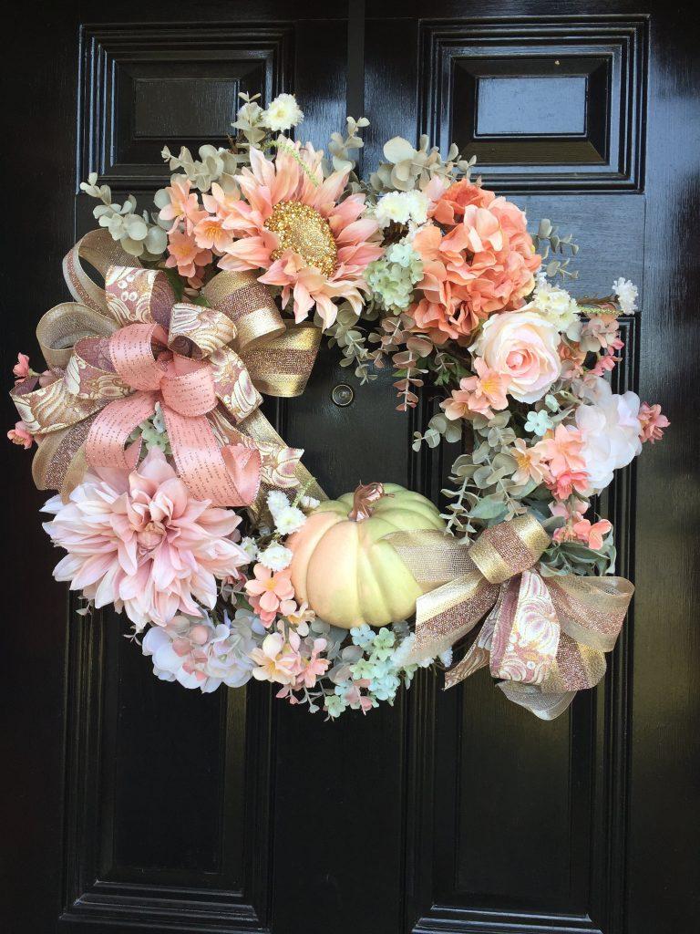 Feminine Fall Wreath