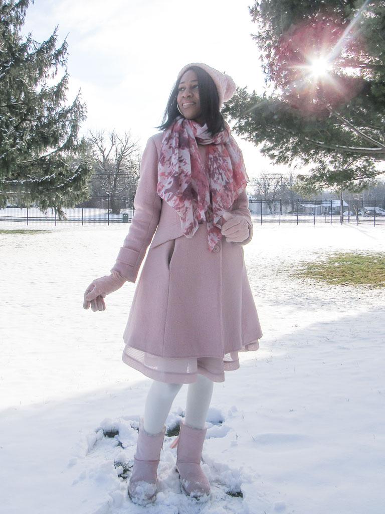 feminine winter outer wear