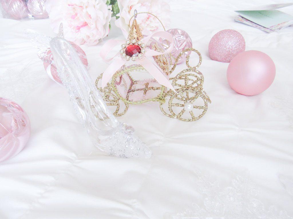 Cinderella Christmas Ornaments