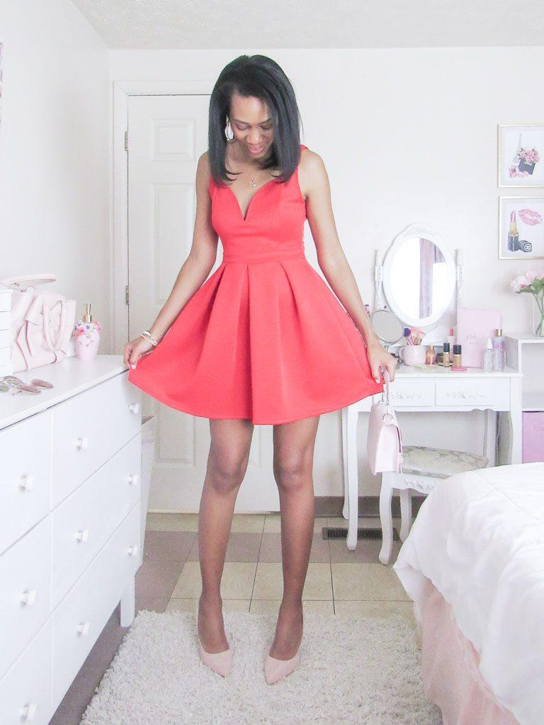 Red Valentines Day Dress