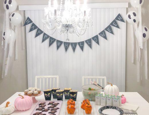 Minimal Halloween Party
